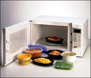 Plastico en microondas